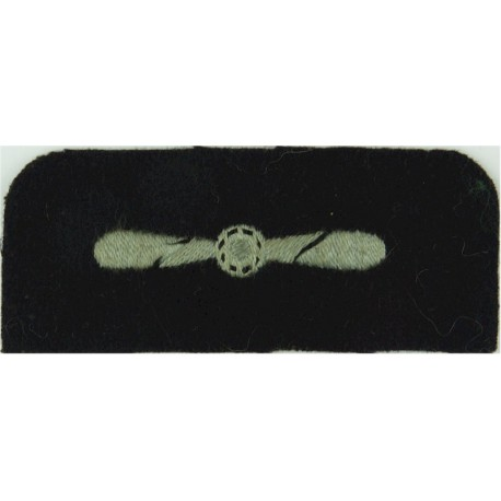 1 Air Control Centre Senior Aircraftman Technician Black On Olive Green Embroidered Air Force Rank Badge