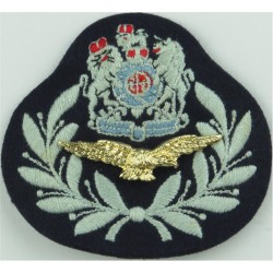 Sergeant Aircrew - Eagle FL Wedgewood Rank Slide Embroidered Air Force Rank Badge