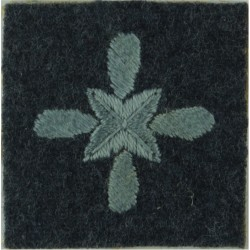 Air Training Corps Senior Cadet (Star On Propeller) On Blue-Grey Square  Embroidered Air Force Rank Badge