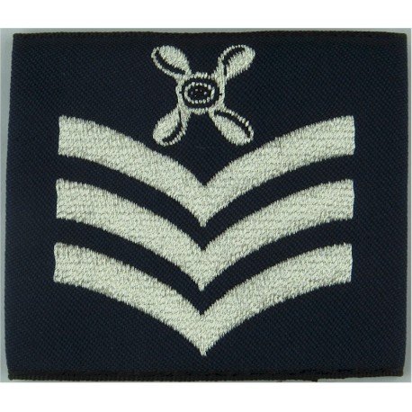 RAFP (Royal Air Force Police) On Black/Red/Black Slip-On  Woven Air Force Branch Badge