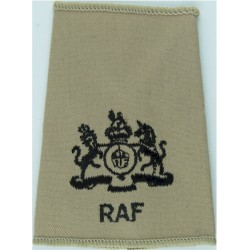 RAF Brevet - S (Signaller) Half-Wing Padded Embroidered Air Force Branch Badge