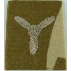 RAF Brevet - M (Meteorological Observer) Half-Wing Padded  Embroidered Air Force Branch Badge