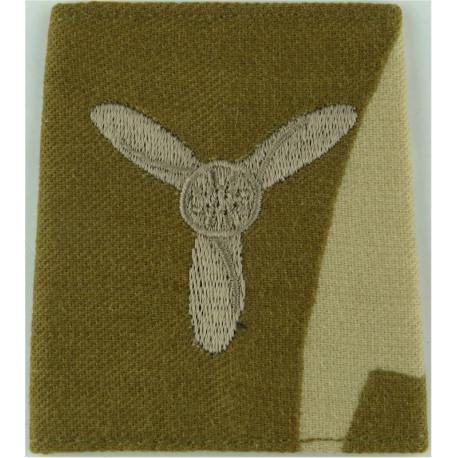 RAF Brevet - M (Meteorological Observer) Half-Wing Padded  Embroidered Air Force Branch Badge