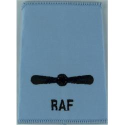 Royal Air Force Leading Aircraftman Sky Blue Rank Slide  Embroidered Air Force Rank Badge