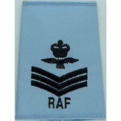 RAF Brevet - FC (Fighter Controller) Half-Wing Mess Kit  Bullion wire-embroidered Air Force Branch Badge