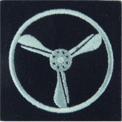 RAF Brevet - AT (Airborne Technician) Half-Wing Mess Kit Bullion wire-embroidered Air Force Branch Badge