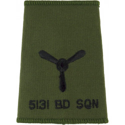 VR/T (Royal Air Force Volunteer Reserve (Training)) Rank Badge - 14.5mm  Gilt Air Force Branch Badge