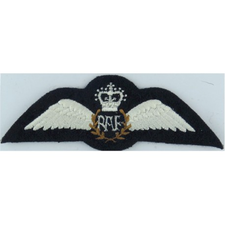 Inter-Service Smallbore Match - Royal Air Force Team  with Queen Elizabeth's Crown. Embroidered Air Force Branch Badge