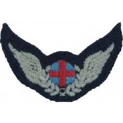 Royal Air Force Air Ambulance Attendant Wings Red Cross With Wings  Embroidered Air Force Branch Badge