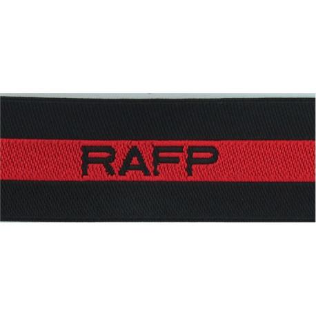 Royal Observer Corps Group 7 (Bedford) On Dark Blue Post-72 Embroidered Royal Observer Corps insignia
