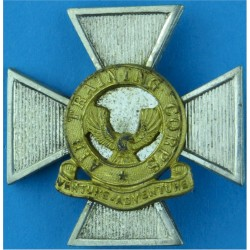 Air Training Corps Chaplain's Stole Badge: ATC Badge On Maltese Cross  Silver-plate and gilt Air Force Branch Badge