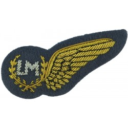 RAF Brevet - LM (Load Master) Half-Wing Mess Kit  Bullion wire-embroidered Air Force Branch Badge