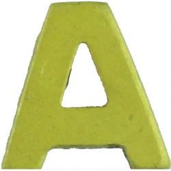 A (Royal Auxiliary Air Force) - 9mm High Collar Badge  Gilt Air Force Branch Badge