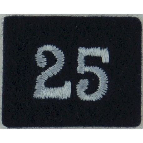 American Red Cross 22.5mm - Brown  Plastic Civilian uniform button