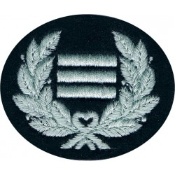 Chief Observer Rank Badge - Royal Observer Corps On Dark Blue Post-72  Embroidered Royal Observer Corps insignia