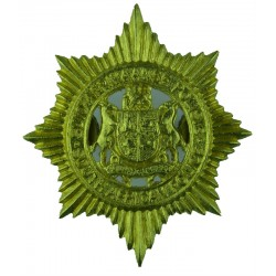 South African Police Cap Badge (For White Officers) Voided Centre  Brass Overseas Police, Prison or Corrections insignia
