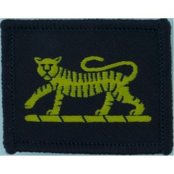 Royal Signals: 35 Sig Regt: 48 (Birmingham) Sig Sqn XXXV / Hammer & Arm  Embroidered Regimental cloth arm badge