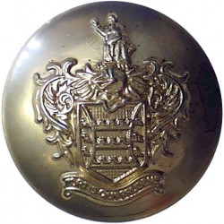 Prudential Assurance Company Limited 23.5mm - Shiny Gold  Plastic Civilian uniform button