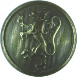 Norwegian Police 23mm  Brass Police or Prisons uniform button