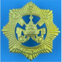 Catholic Boys' Brigade Voided Cap Badge Officer Type: Voided  Gilt
