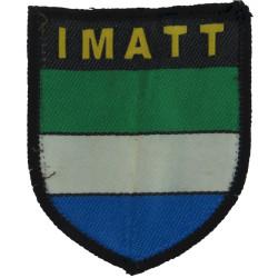 International Military Advisory & Training Team IMATT Sierra Leone  Woven Military Formation arm badge