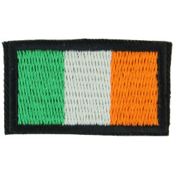 Arm-Flag - Irish Troops 40mm X 24mm  Embroidered United Nations insignia