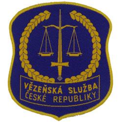 Czech Republic Prison Service Arm Badge  Woven Overseas Police, Prison or Corrections insignia
