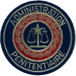 France: Prisons (Administration Penitentiaire) Arm Badge  Embroidered Overseas Police, Prison or Corrections insignia