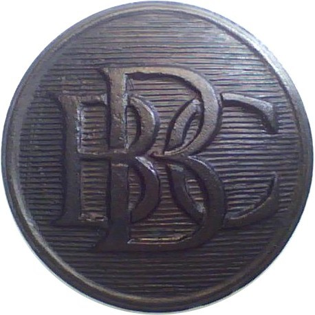 British Broadcasting Corporation Yacht Club 23mm - Black  Horn Yacht or Boat Club jacket button