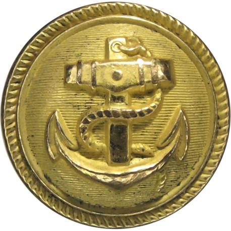 German Navy - Deutsche Marine 25mm - Post-WW2  Gilt Military uniform button