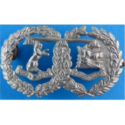 Argyll & Sutherland Highlanders (Princess Louise's) FR - Part-Voided  White Metal Other Ranks' collar badge
