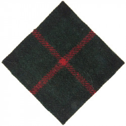 Transvaal Scottish Regiment (South Africa) Murray Of Atholl  Tartan Badge Backing