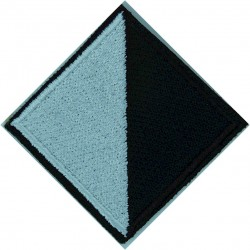 Royal Regiment Of Scotland (Lion On Saltire On Olive Rectangle) Woven Regimental cloth arm badge