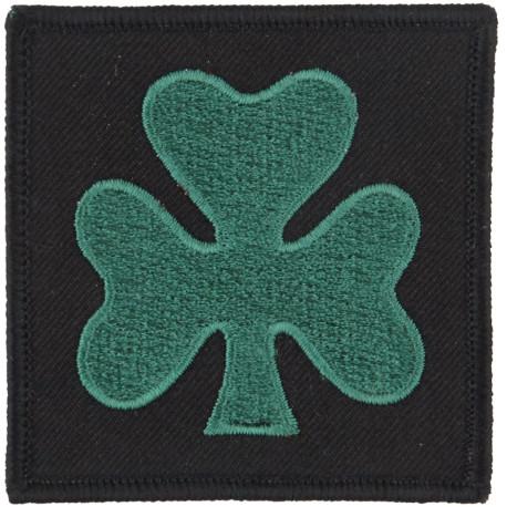Royal Regiment Of Scotland (Lion On Saltire On Blue Rectangle) Woven Regimental cloth arm badge