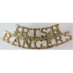 Irish / Rangers (Royal Irish Rangers)   Anodised Army Staybrite shoulder title