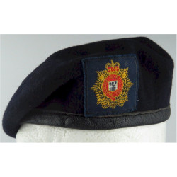 Beret: Royal Logistic Corps With Cloth Cap Badge  Embroidered Hat, cap or helmet