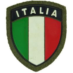 Arm-Flag - Italian Troops Italia Shield  Rubberised United Nations insignia
