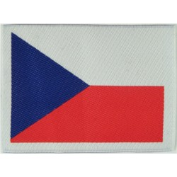 Arm-Flag - Czech Republic   Woven United Nations insignia