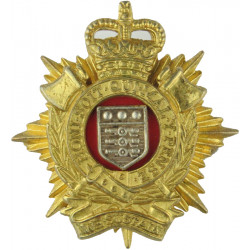 Royal Logistic Corps (1st Pattern - Gilt Scrolls) Formed 5 April 1993 with Queen Elizabeth's Crown. Gilt and enamel Officers' me