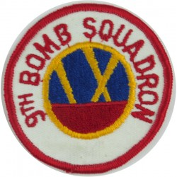 9th Bomb Squadron - USAF Colour  Embroidered United States Air Force insignia