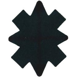 Black Watch (Royal Highland Regiment) Tartan Star   Tartan Regimental cloth arm badge