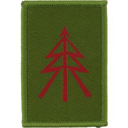 Mercian Regiment - 1st Bn Reconnaissance Platoon Spearhead/ Lightning  Woven Regimental cloth arm badge