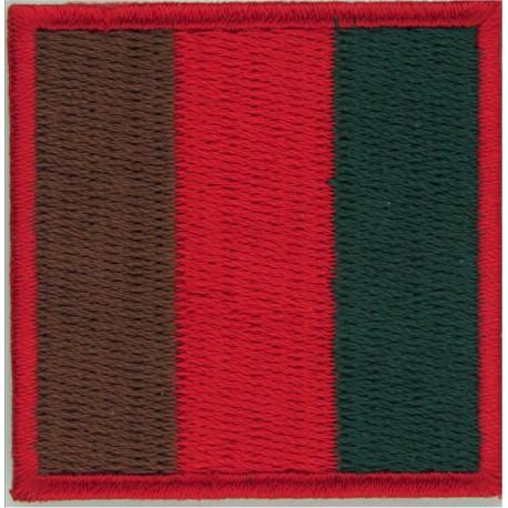Royal Lancers - Skull On Crossed Lances Colour  Woven Regimental cloth arm badge