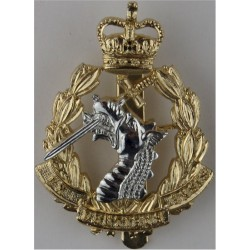 Royal Army Dental Corps  with Queen Elizabeth's Crown. Anodised Staybrite army cap badge