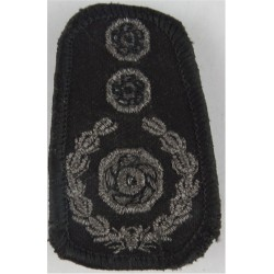 Collar Rank: Chief Fire Officer - Clip-On 3 Impellers + Wreath  Lurex Fire and Rescue Service insignia