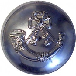 Light Infantry - Post-1959 26mm Silver Colour  Anodised Staybrite military uniform button