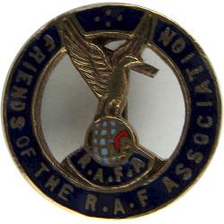 Friends Of The Royal Air Force Association Lapel Badge  Enamel Lapel or sweet-heart badge