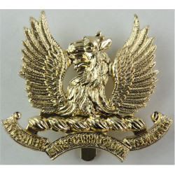 Ayrshire (Earl Of Carrick's Own) Yeomanry Sealed 30 Apr 1965  Anodised Staybrite army cap badge