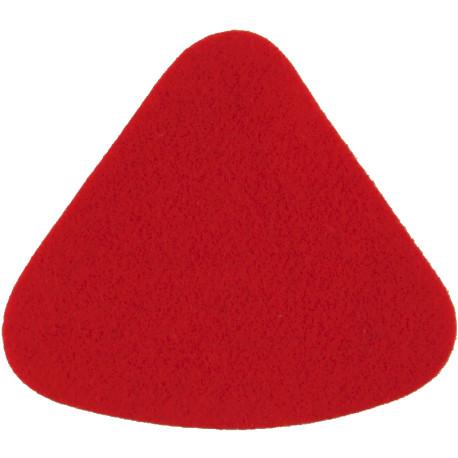 5th Royal Inniskilling Dragoon Guards Dk Green Badge-Shape Felt Badge Backing