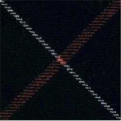 King's Own Scottish Borderers (75mm Square) Leslie Tartan  Tartan Badge Backing